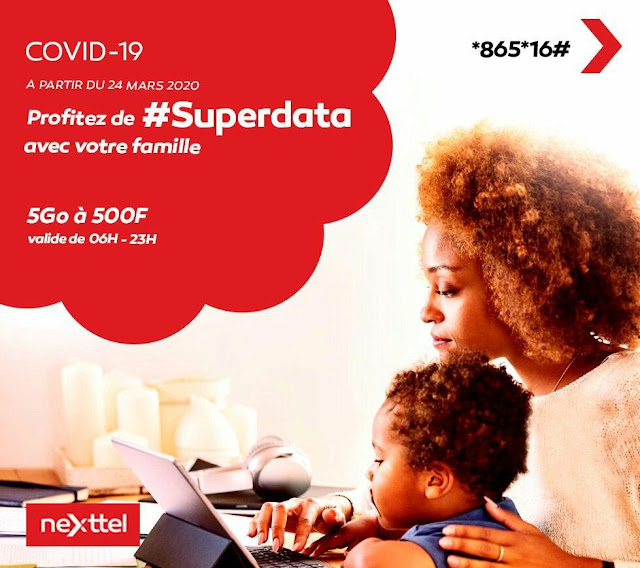 Nexttel SuperData is back: Get 5GB for 500F CFA