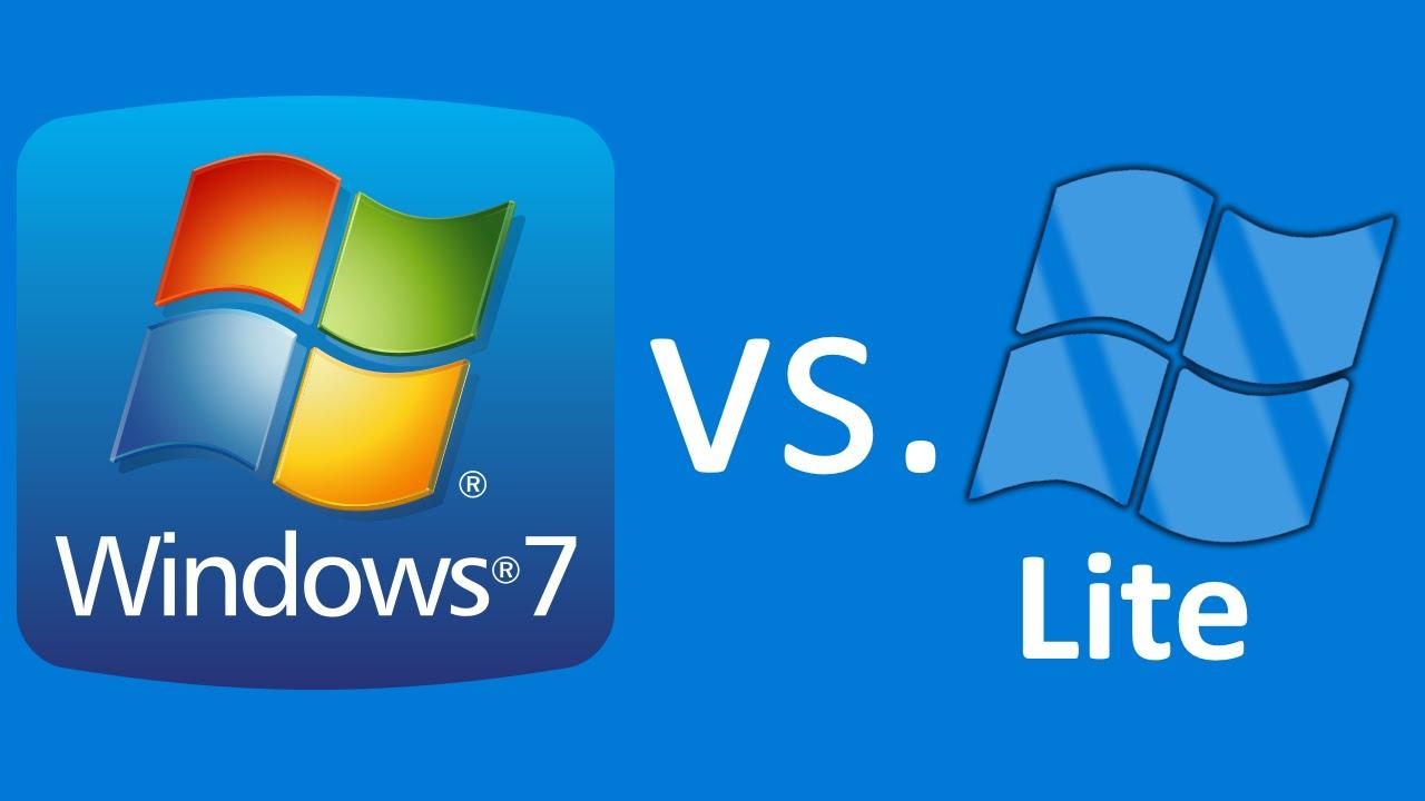 Windows 7 Lite Ultimate (32Bit + 64Bit) bản rút gọn cho máy cấu hình yếu