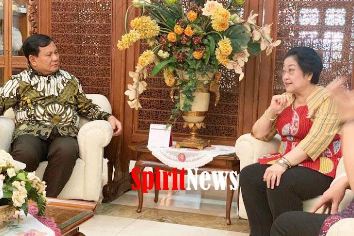 Megawati Lakukan Pertemuan Diplomasi Dengan  Prabowo
