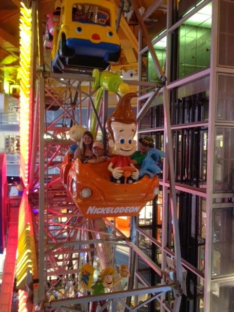 The Millers Go Rving Ferris Wheel At Toys R Us Nyc
