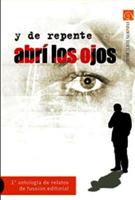 """Portada """"Y de repente abrí los ojos"""" coautor Fransánchez"""