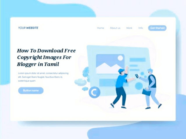 How To Download Free Copyright Images For Blogger in Tamil