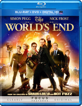 The Worlds End (2013) Dual Audio Hindi 720p BluRay 1GB ESubs