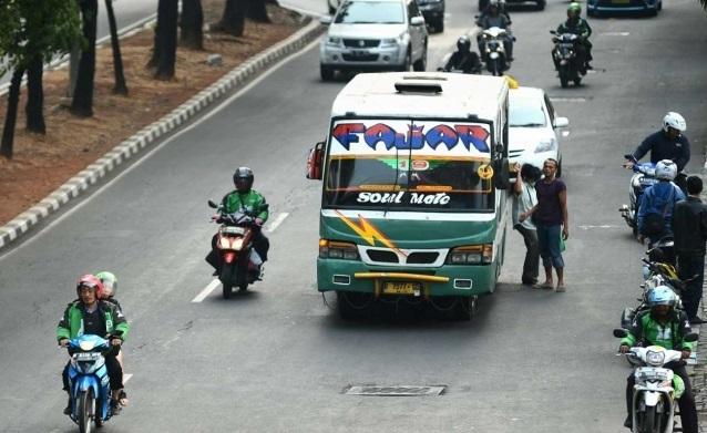 Tragis, Telah Terjadi Pembunuhan Sadis Oleh Driver Ojek Online Di Parkiran Terminal Bus
