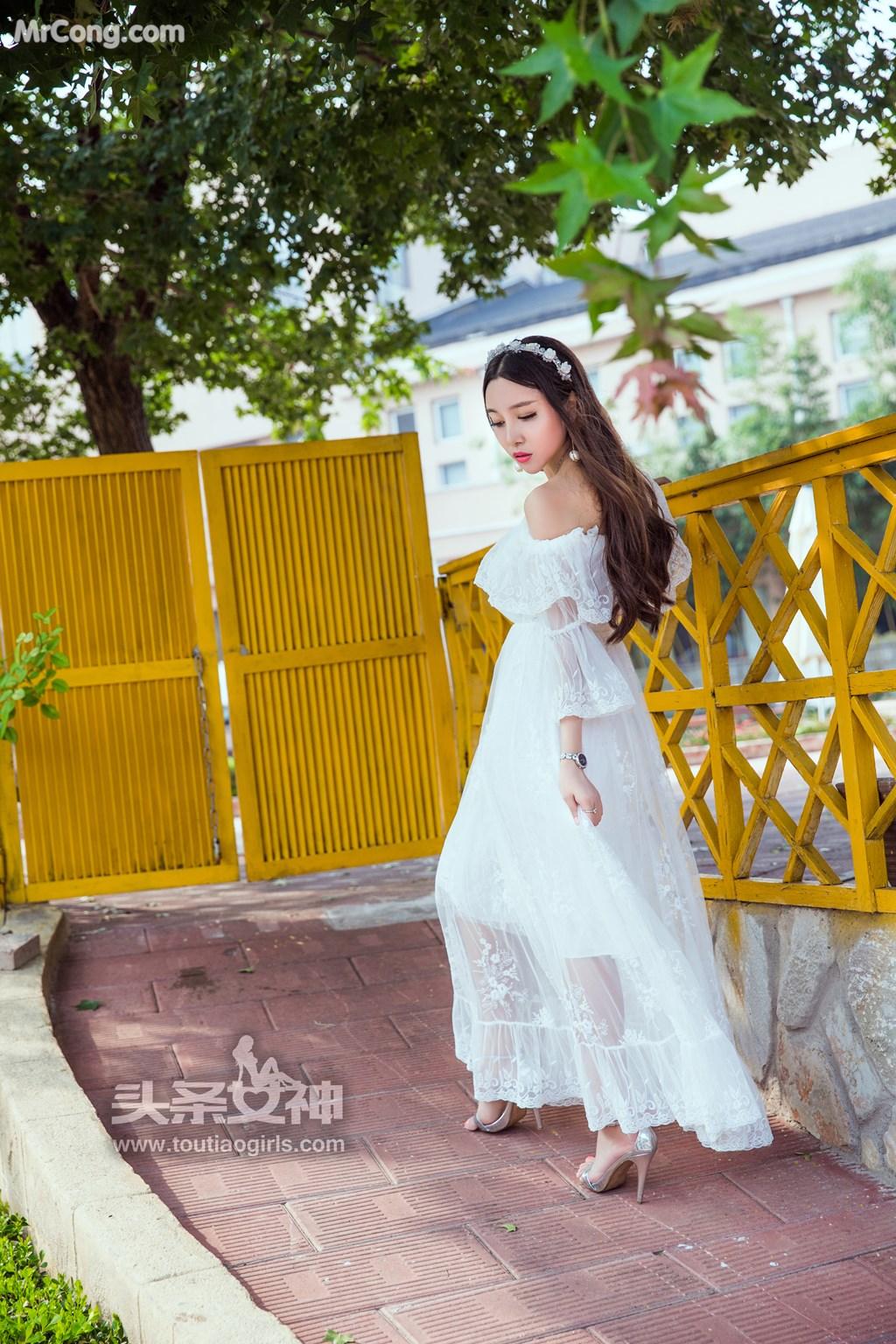 Image TouTiao-2017-08-06-Li-Zi-Xi-MrCong.com-003 in post TouTiao 2017-08-06: Người mẫu Li Zi Xi (李梓熙) (37 ảnh)