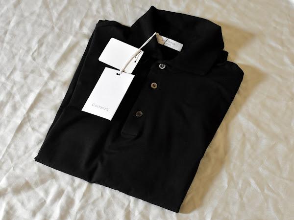 Costanzaの長袖ポロシャツ