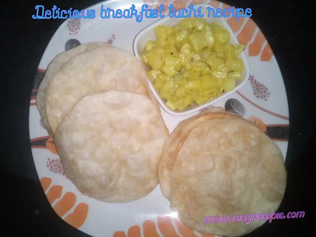 Delicious breakfast luchi recipe
