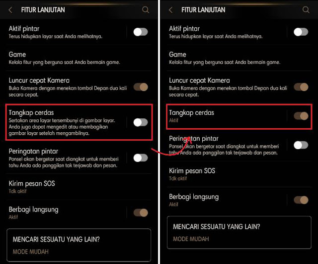 Cara Screenshot Panjang HP Samsung 2
