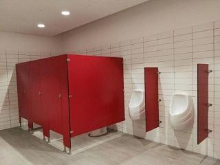 divisiones para baño centro comercial