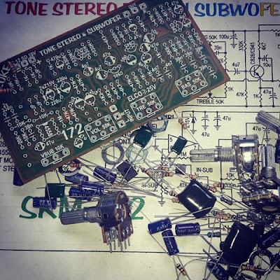 making tone control circuit + subwoofer filter