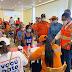 Defensa Civil  vacuna a cientos  contra el Covid-19 en San Cristóbal y el Gran Santo Domingo