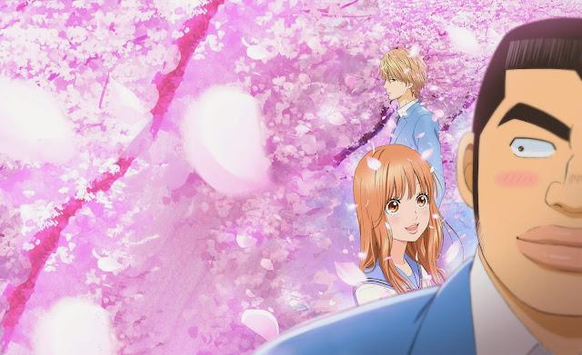 """تدور أحداث قصة الأنمي حول شاب عملاق ذو قلب الكبير يدعى تاكيو قودا،السيء في الأمر أن الفتيات لا يُردنه! """"يُردن صديقه المقرب سوناكاوا"""