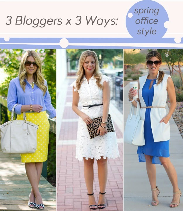 45e4467ea2ad8 I am excited to team up with Tara at Mix & Match Fashion and Marion at Marionberry  Style to show you ladies three office appropriate style inspirations for ...