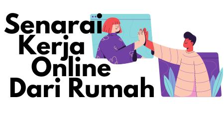 kerja online dari rumah 2021