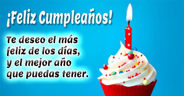 Imágenes de Cupcakes para felicitar el Cumpleaños