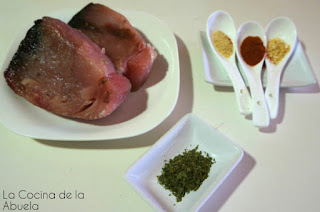 lomos bonito picante cayena receta ingredientes