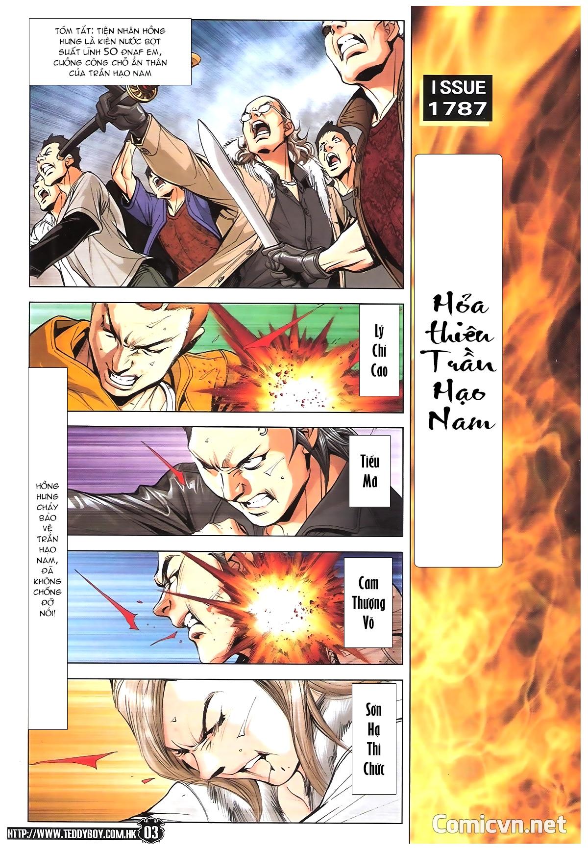 Người Trong Giang Hồ chapter 1787: hỏa thiêu trần hạo nam trang 2
