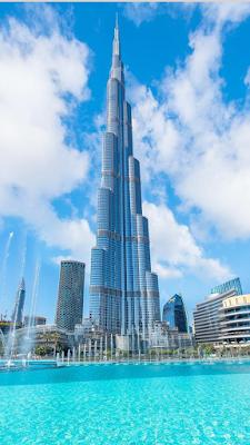 World's Tallest Building Burjkhalifa In Dubai