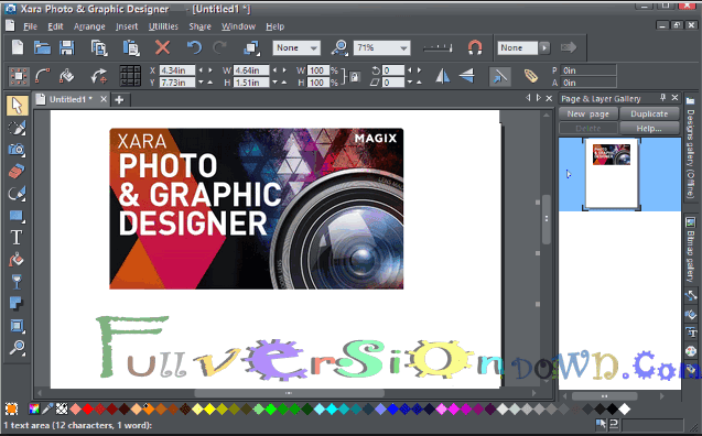 Xara Photo & Graphic Designer Latest Full