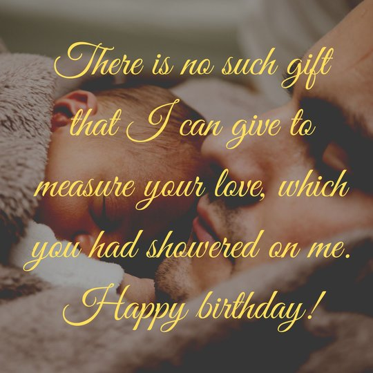 New Birthday Wishes for Dad