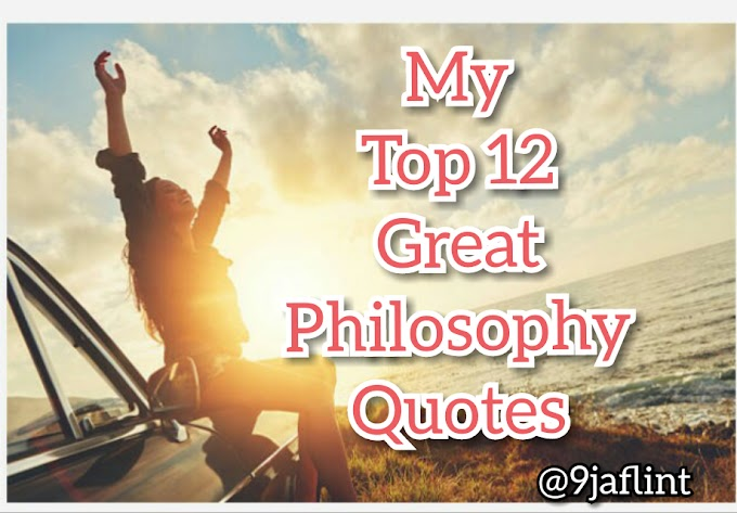 Philosophy of Quotes on Life