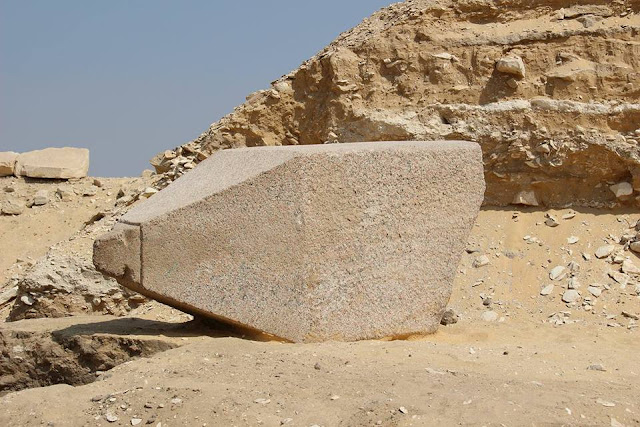 4,300 year old Pharaonic obelisk unearthed in Giza