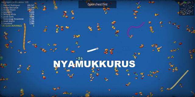 Worms Zone Mod Apk Zoom Layar Besar