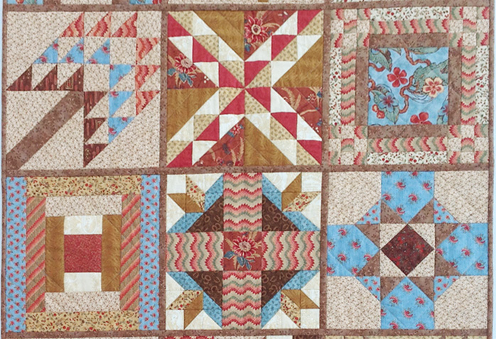 Quilt Knit Stitch 2017 : Civil War Quilts: Finishes: Westering Women