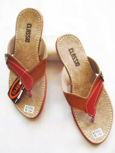 Sandal CS Japit Karet Wanita Murah Meriah Garut