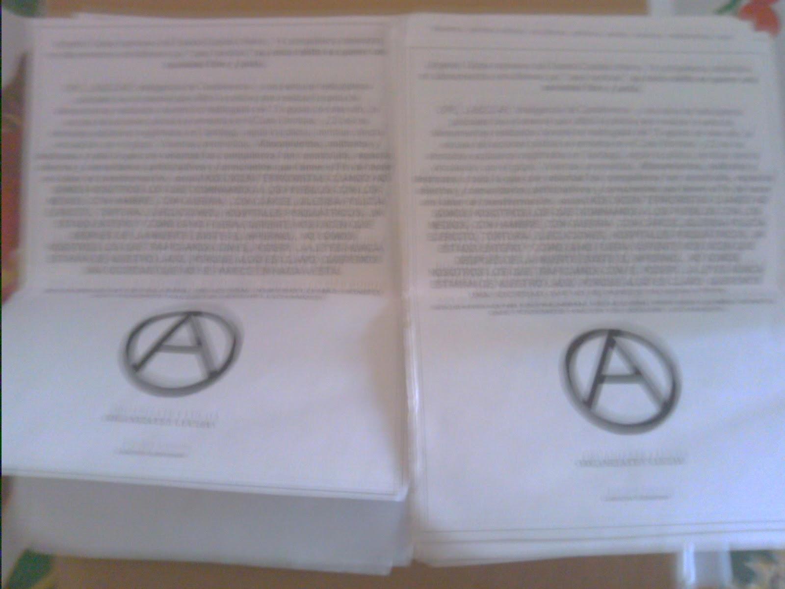 Gargantas Libertarias: 2012