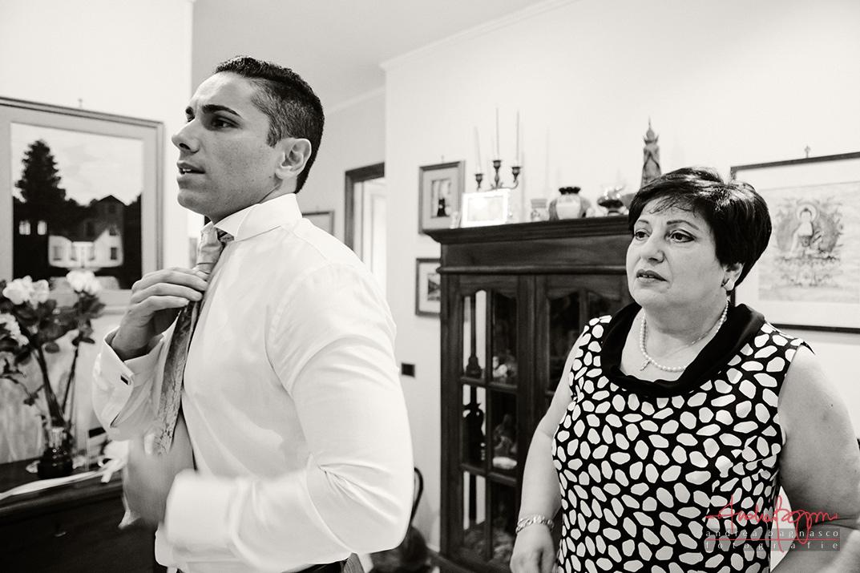 fotografo matrimonio Genova preparazione sposo