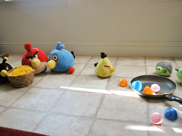 Operation Good-Bye Angry Birds!