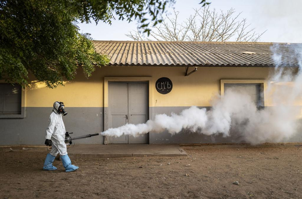 "Africa Faces ""Existential Threat"" As Virus Cases Spread."
