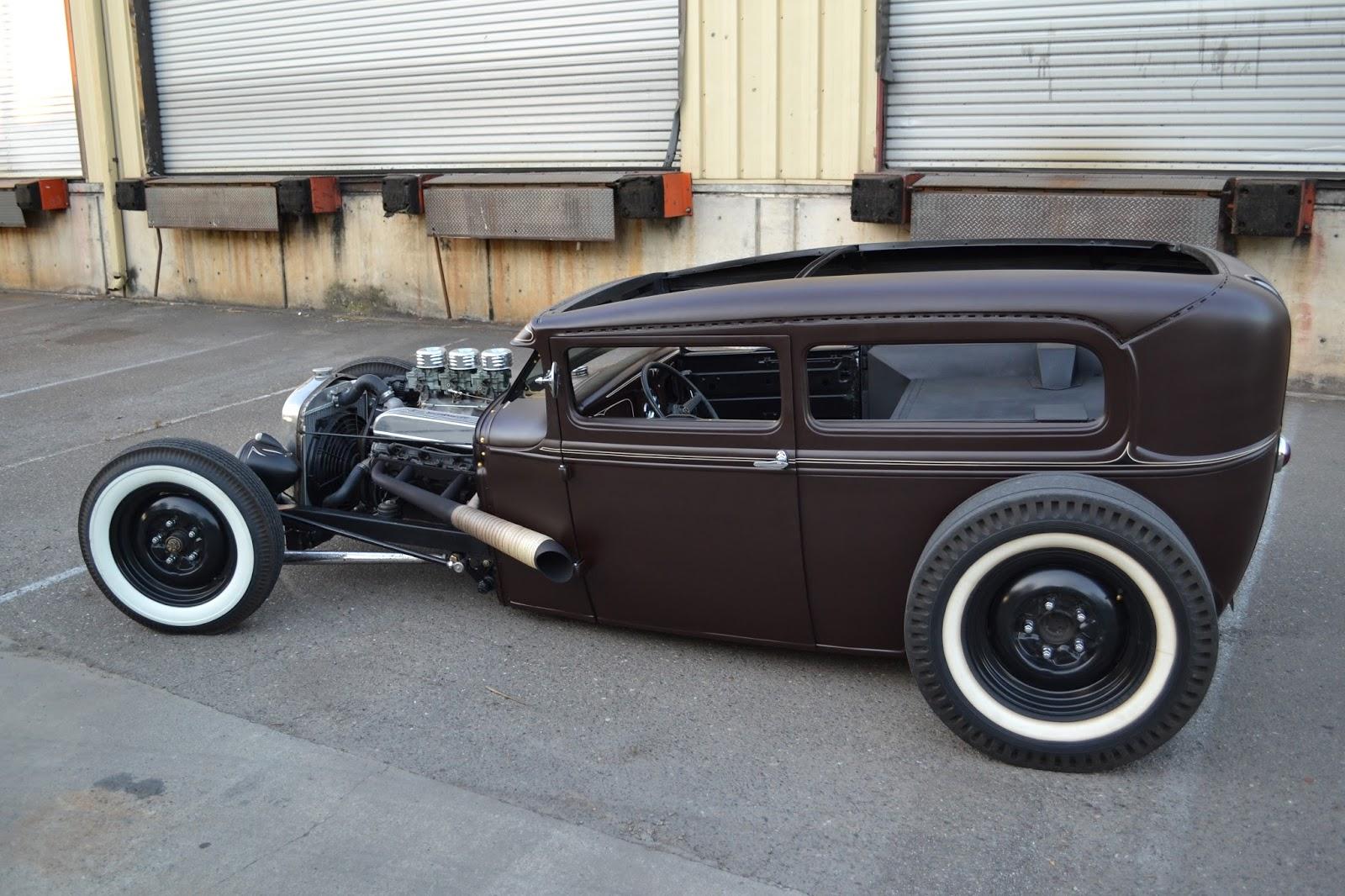Chuckles Garage 1930 Ford Tudor