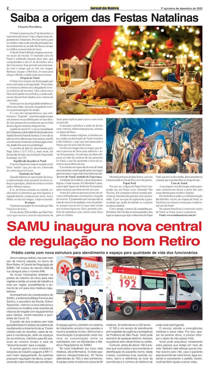 Matéria de Eduardo no Jornal do Bairro - Ed. 5