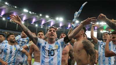Argentina Juarai Copa Amerika 2021