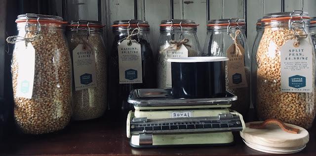 kilner jars dried goods