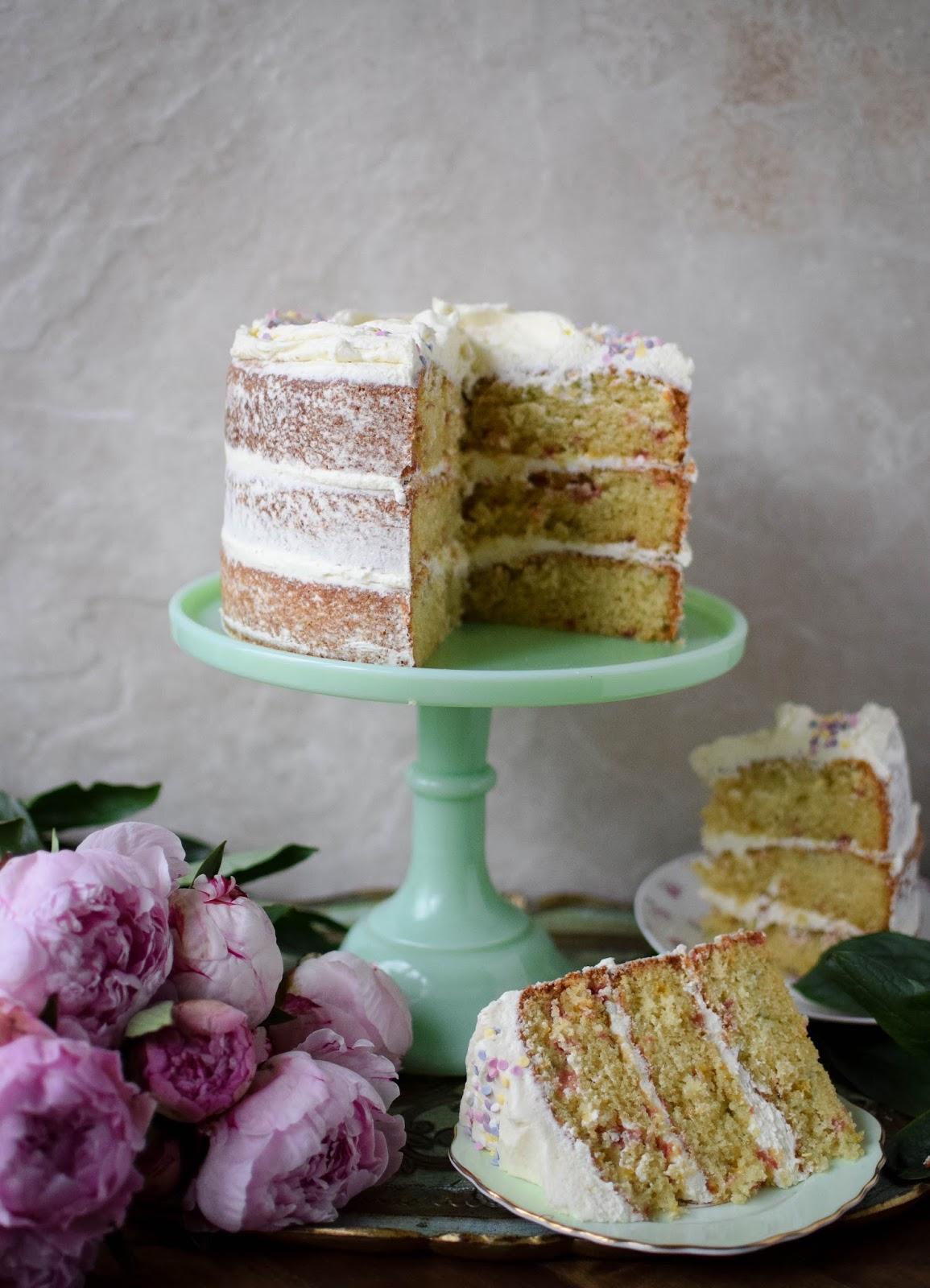 Pleasant Confetti Birthday Cake Katie Cakes Funny Birthday Cards Online Elaedamsfinfo