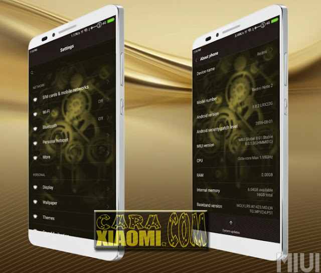 Link Download Theme MIUI Lux Huawei Honor Theme For Xiaomi: