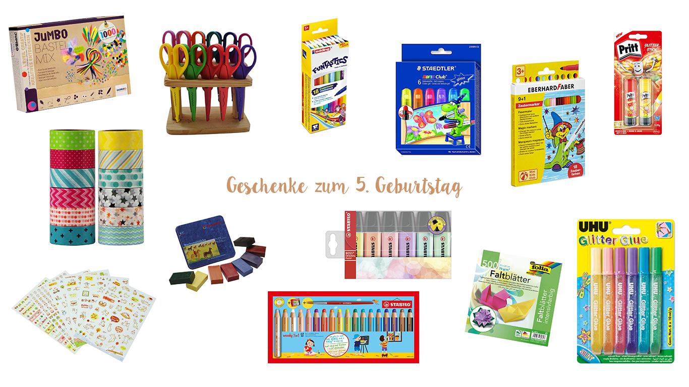 Geschenke Guide Zum 5 Geburtstag Unter 50 Euro Dreiherzen