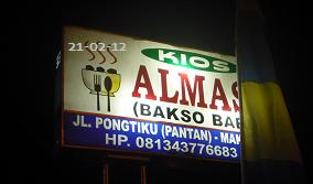 Bakso Babi Almas, Makale Tana Toraja