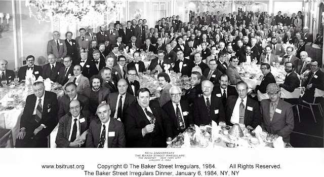 The 1984 BSI Dinner group photo