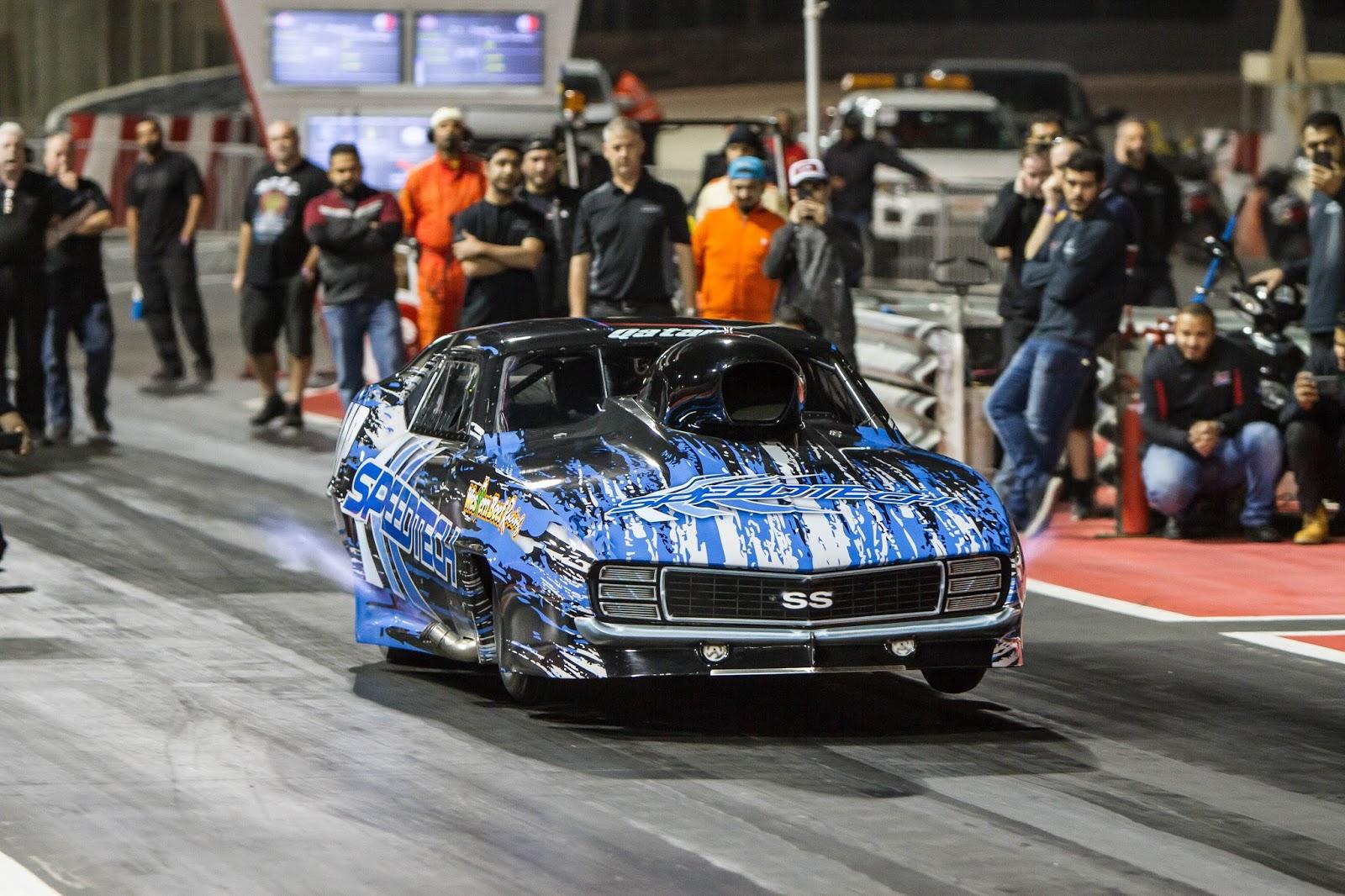 Nos Car: 3.66s Al Anabi Pro Nitrous Speedtech Camaro 1/8 Mile