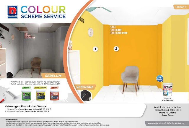 colour scheme service nippon paint