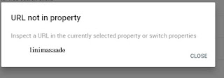 url not in property