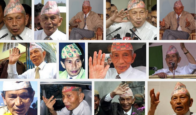 Late. Subhas Ghising always wore his Dhaka-Topi with pride