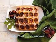 Сладкиш с пресни смокини и орехи * Torta di fichi e noci