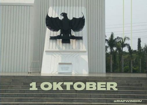 Selamat datang Oktober. Setiap tanggal 1 Oktober diperingati sebagai Hari Kesaktian Pancasila