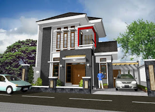 Rumah Pinggir Jalan Raya Strategis
