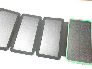 Powerbank Solar Cell Plus 3pcs Solar Panel Kuulaa Solar Powerbank 8000mAh
